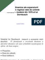 Cursul 10 (II) Modelul Lui Dornbusch Efectele Dinamice Ale Expansiunii Monetare Cu E Flexibil