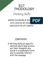 Methodology (Writing Skills)