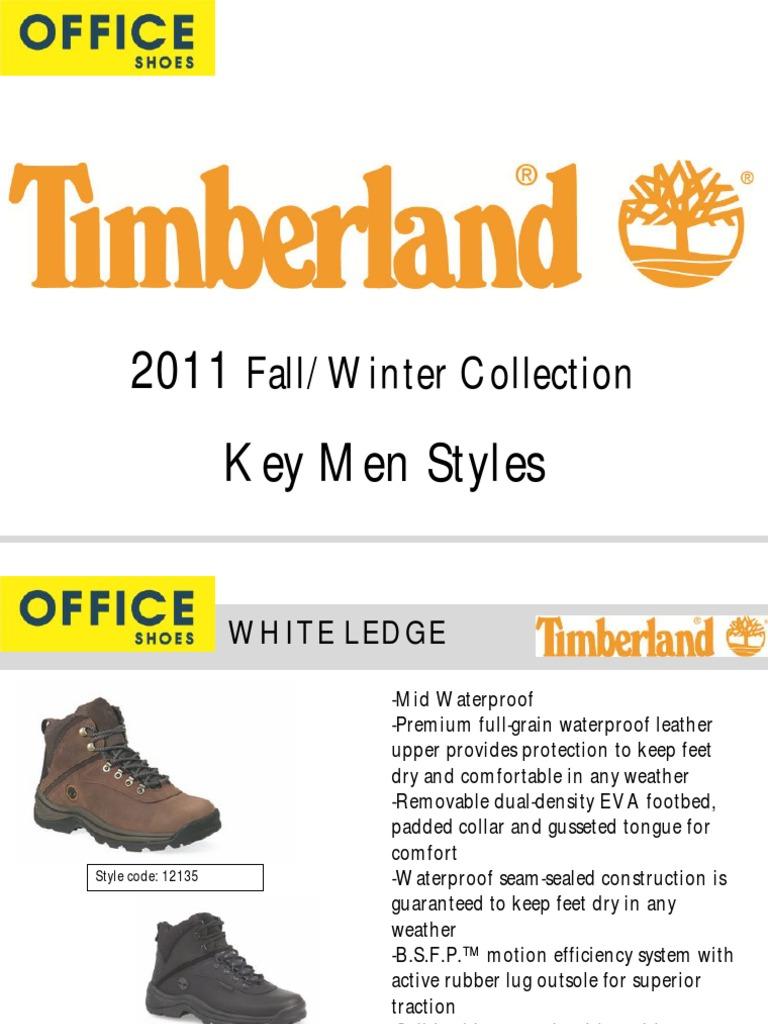 vendita calda a buon mercato scarpe temperamento disegni attraenti Retail Rules Timberland AW11 En   Shoe   Consumer Goods