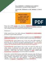 Munnezza a Isola Delle Femmine 1 2 Febbraio 2012 Creata l'Emergenza Si Affidano i Lavori Di Smaltimento PDF