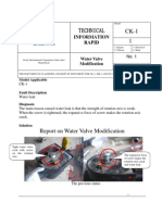 CK-1 Water Valve Modification 1
