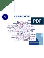 Les régions.