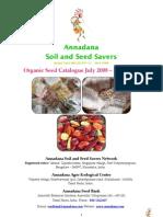 Annadana Catalogue 2008 09
