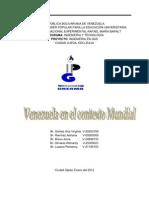 Informe Venezuela en El Contexto Mundial