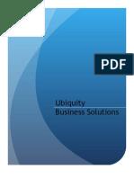 Brochure Ubiquity