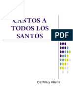 Cantos a Todos Los Santos