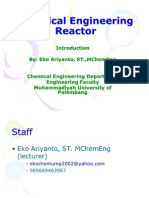 Chemical Engineering Reactor