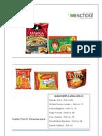 Survey Report on Noodles