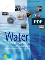 Water a Shaered Responsibility 2006