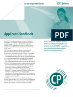 Cgfns Cp Handbook