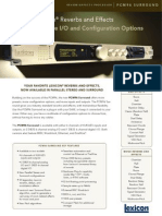 Pcm96 Surround Datasheet