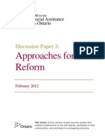 Discussion Paper 2 Approaches for Reform FINAL