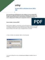 Configuracao Do Servidor DHCP No Windows Server 2003 e Integracao Com o NIU
