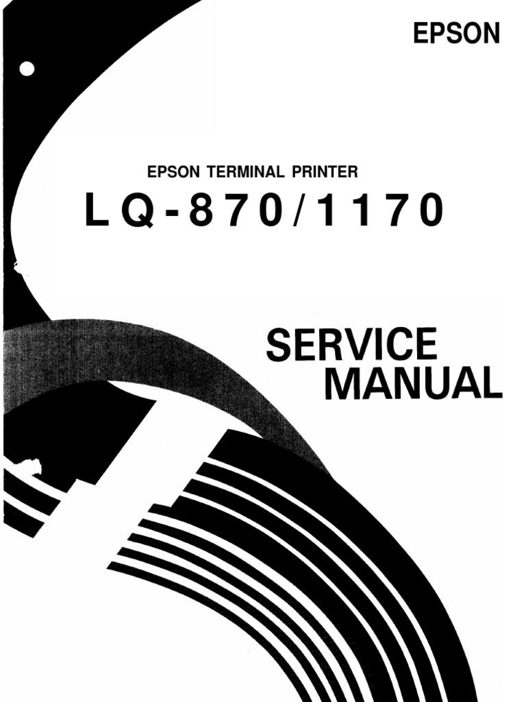 Epson Lq 870 1170 Service Manual Printer Computing Typefaces 5v 3a Switchingregulatorcircuit Powersupplycircuit Circuit