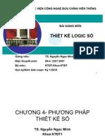 BG Thiet Ke Logic So Chuong 4 Phuongphapthietkeso