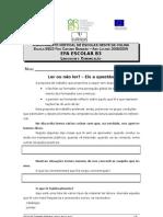 Ficha de Trabalho nº4- LC-Ler Ou não Ler