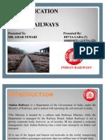MIS in Indian Railways