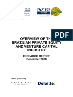 Overview of the Brazilian Private Equity and Venture Capital Industry_2008