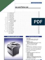 CLX-3160 Parts