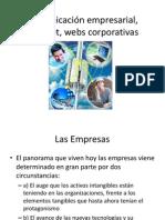 Comunicación empresarial, Internet, webs corporativas clase 4