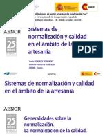 1 Normalización artesania Colombia