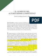 Autorismo Competitivo - Levitsky y Way