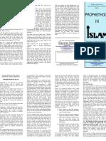 3-Prophethood in Islam