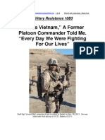 Military Resistance 10B3 Every Day We Were Fighting for Our Lives[1]