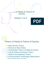 Theory of Media & Theory of Society