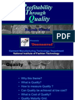 Bheda,Maturity Grid and Cost of Quality Quality