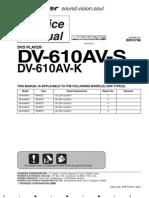 DV-610AV Service Manual