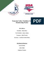 2012 TVTC Membership Packet