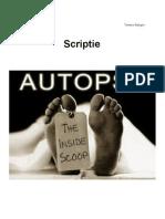 Scriptie Autopsie