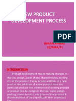 New Product Dev by ME