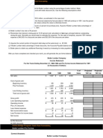Butler Lumber- Pro Forma- Balance and Income Statement