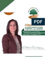 FUENTE LA LANCHA Programa Elecciones Municipales 2011 Fuente La Lancha
