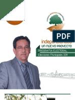 POZOBLANCO Programa Elecciones Municipales 2011