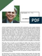 C. SAGAN, La Carga Del Escepticismo