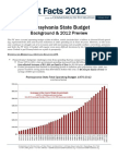 Pennsylvania State Budget Background & 2012 Preview