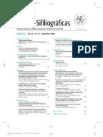 Sumario Actas Dermosifilográficas diciembre 08