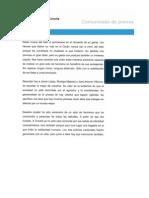 Comunicado Orzán 06-02-2012