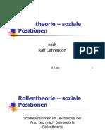 Rollentheorie