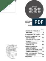 manual mxm310