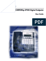 EP100 Digital Endpoint User Guide