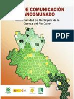 Plan de Comunicación Mancomunado Mancomunidad de Municipios Cuenca del Río Caine