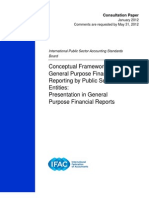CP Conceptual Framework for G P Financial Reporting
