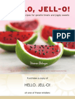 Recipes From Hello, Jell-O! by Victoria Belanger