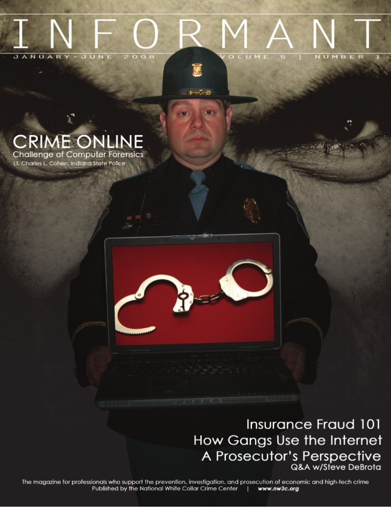 Informant Jan-June 08 | Computer Forensics | Cybercrime