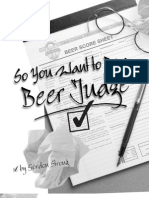 Beer Judge BJCP