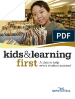 Kids and Learning First
